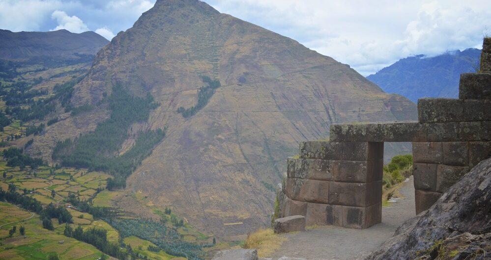 ancient door sacred valley peru